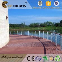 Eco gute Qualität WPC Boden Deck / Wpc Dock Decking / Marine Decking