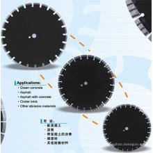 Lasergeschweißte Diamantsägeblätter für Asphalt / Grünbeton