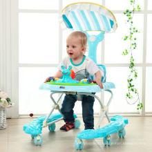 Новый младенческой ребенок ходунки с 8 колесами PU для Сбывания