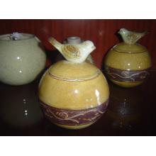 Recipiente de cerámica Recipiente de cerámica