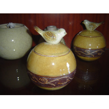 Ceramic Container Ceramic Candy Jar