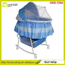 Fabricante NOVO Design Borboleta Mosquito Net Capa Portátil Rocking Infant Cradle Grande Cesta de Armazenamento Baby Bass