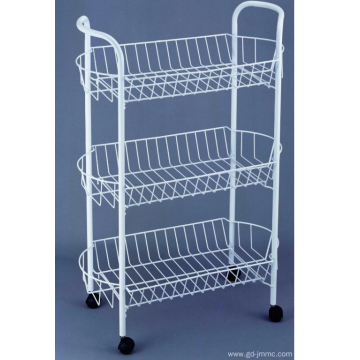 3 Tier Storage Cart putih