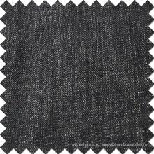 Черный хлопок Spandex полиэстер Джинсовая ткань высокого качества