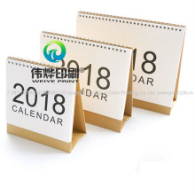 Unique Wholesale Desk Custom Cheap Printing Service Paper Calendar