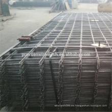 Material de malla de alambre negro y malla reforzada Malla de refuerzo SL82