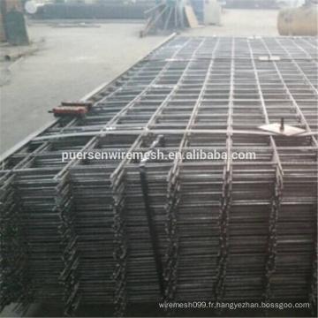 Matériau en maille noire et mailles renforcées en maille renforcée SL82