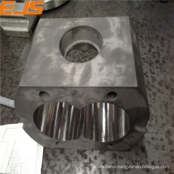 feed housing with 38CrMoAlA base steel for barrel