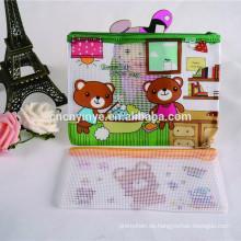 Förderung Plastikstift Tasche