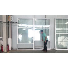 American Single double Hung Thermal Break Aluminum Window vertical sliding Sash Window