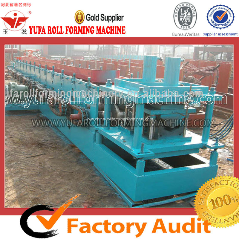 Fully Automatic Hydraulic Gutter Roll Forming Machine, Aluminum Roofing Machine