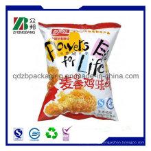 Custom Printing Back Sealed Plastic Packaging Bag