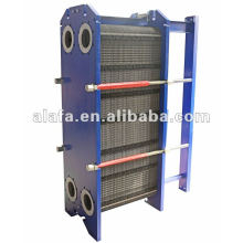 Gasket heat exchanger for Turbine oil cooler, Chemical industry