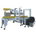 Automatische Kartonverschließ- und Umreifungsmaschine