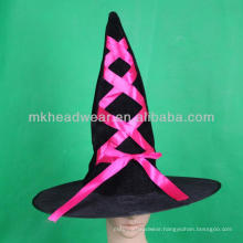 Funny Cheap Decorated Halloween Witch Hats Design Pattern for Sale