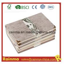 Hochwertiges Hardcover Notizbuch mit Lederbezug