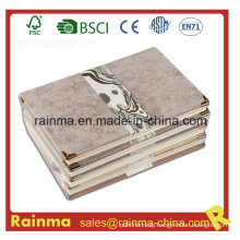 High Quality Hardcover Cover Notebook with Leather Cover