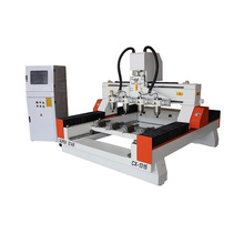wood router engraving machine with roatry