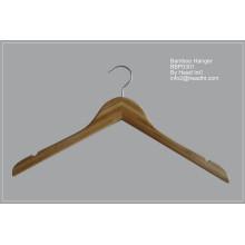 Cintre de manteau de couleur en bois naturel 42cm