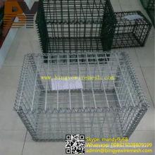 Welded Gabion Cage Gabion Retaining Wall