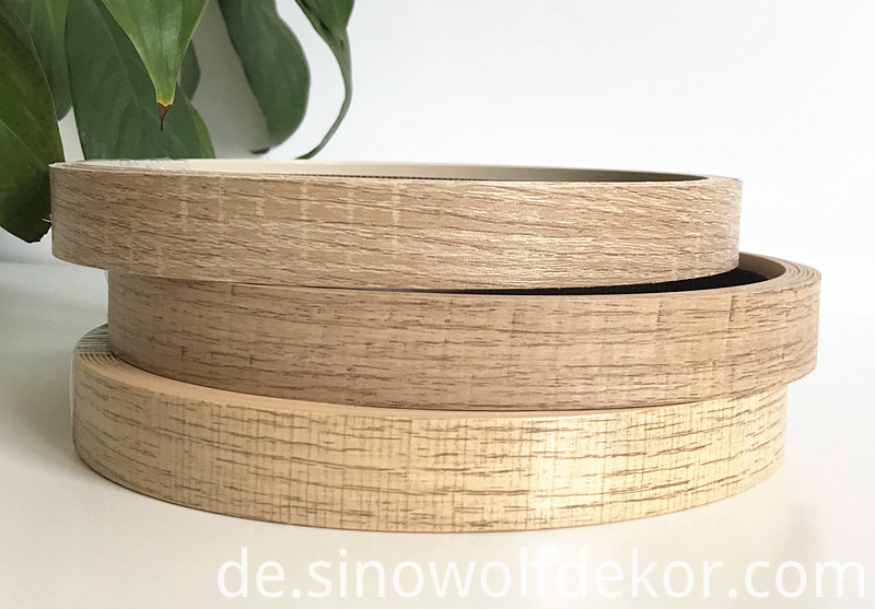 ABS Wood Grain Edge Banding Color