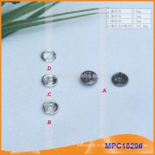 Bouton à pression personnalisé Prong Snap MPC1029