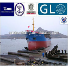 Navire pneumatique / marin / bateau airbag en caoutchouc