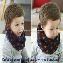 Moda cachecóis Cachemira tricotado pescoço quente quente mágico malha lenço