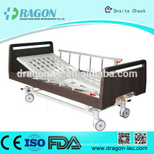 DW-BD186 medline semi electric hospital bed manual nursing bed with two functions for medical equipment