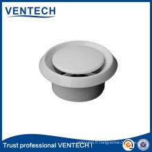 Ventilation des systèmes CVC Valve à disque en plastique de haute qualité