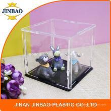 Vitrina de exhibición de acrílico clara del juguete de Jinbao Custom