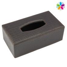 High-End Rechteck Leder Tissue Box (ZJH072)