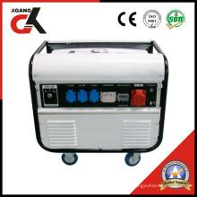 5kw Modelo Novo Gerador Trifásico de Gasolina com CE