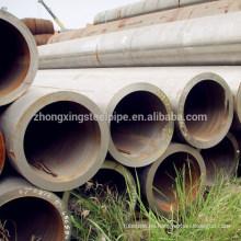 tubo de acero inconsútil de carbón de gran diámetro pared gruesa