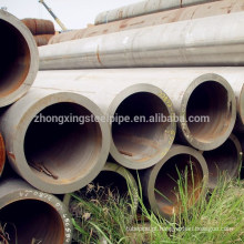 tubo de aço-carbono sem costura de parede grossa grande diâmetro
