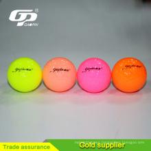 Manufacturer high-quality tournament Surlyn golf ball urethane golf ball 2 practice golf ball