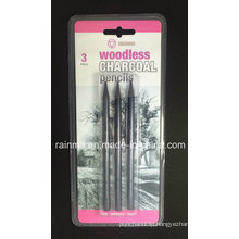 Woodless Graphite Pencils 3 PCS Blister Packing