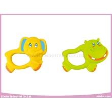 Sonajero de bebé Juguetes de hipopótamo y elefante Sonajeros para bebé