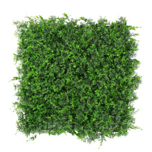 PE Material easily assembled faux boxwood in planters
