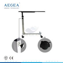 AG-OBT001B meubles en bois réglable hauteur hôpital chambre table d'appoint