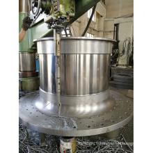 Conception et moulage du couvercle d'extrémité du broyeur à boulets