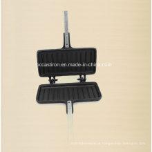 Fábrica da panqueca do ferro fundido de Preseaseoned China