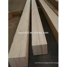 El mejor precio de álamo de pino LVL andamio tablón LVL para embalaje, madera laminada