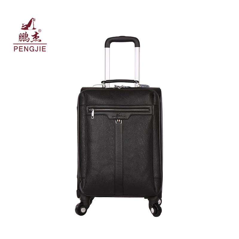 suitcase parts cheap trends pu leather trolley sets