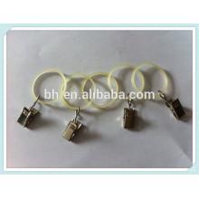 China Baihong Plastic Curtain Ring Clip For Curtain Eyelet Rings