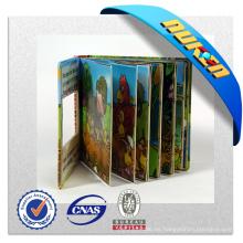 Impresión de libro de cuentos lenticulares 3D para niños