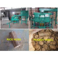 Machine de briquettes de bois à combustible solide à biomasse de type à pistons