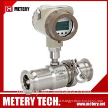 Tri Clamp Thread Milk Flowmeter Sensor with 220VAC