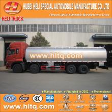 Dongfeng Tianlong 8x4 32CBM acid liquid tanker truck for sale , china factory supply