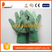 Хлопчатобумажные точки на защитных перчатках Palm Garden Dcd204